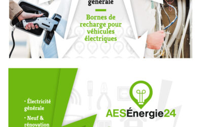 CARTE DE VISITE AES Énergie 24