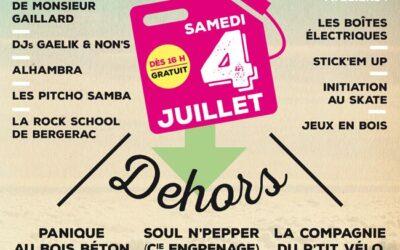 AFFICHE Dedans / Dehors