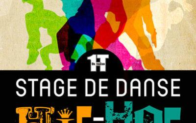 AFFICHE Stage de danse