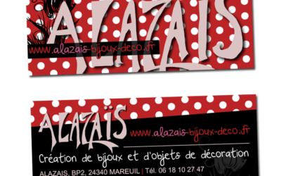 CARTE DE VISITE Alazaïs
