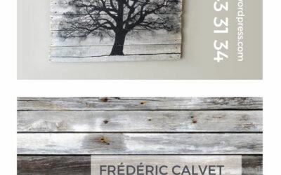 CARTE DE VISITE Frédéric Calvet