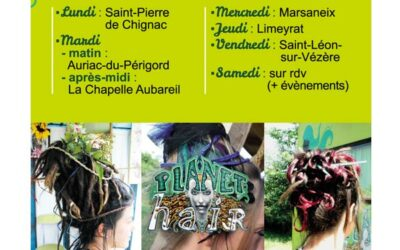 CARTE DE VISITE Planet'Hair