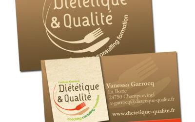 CARTE DE VISITE Diététique et Qualité