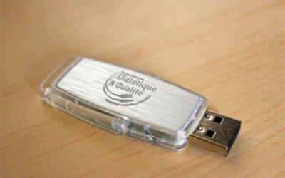 CLÉ USB Diététique et Qualité