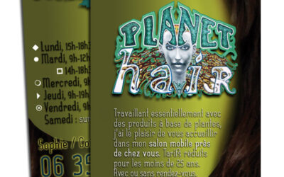 CARTE DE VISITE Planet Hair