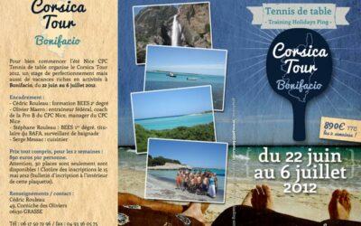PLAQUETTE Corsica Tour 2012