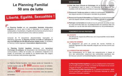 PLAQUETTE Planning familial Aquitaine