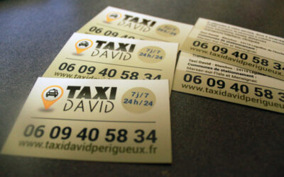 CARTE DE VISITE Taxi David