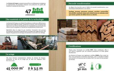 PLAQUETTE Scieries de Corgnac