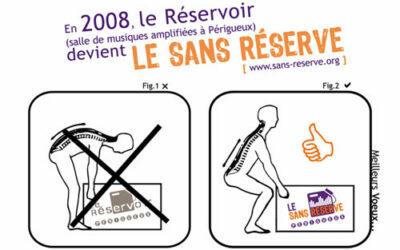 Carte de vœux Sans Réserve 2008