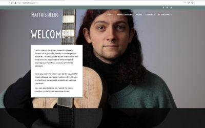 SITE WEB Matthis Héluc